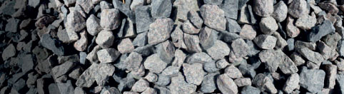 EBH recycled Concrete Crushed natural rock or recycled concrete with minimal fines and a nominal particle For use as free-draining material, draining wall, backfill,