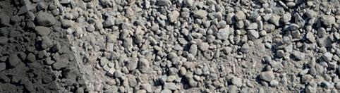 EBH recycled Concrete  - DGB / DGS R1 Road Base Class R1 recycled material (concrete blend) with a nominal size of -20mm (Pi 0%)